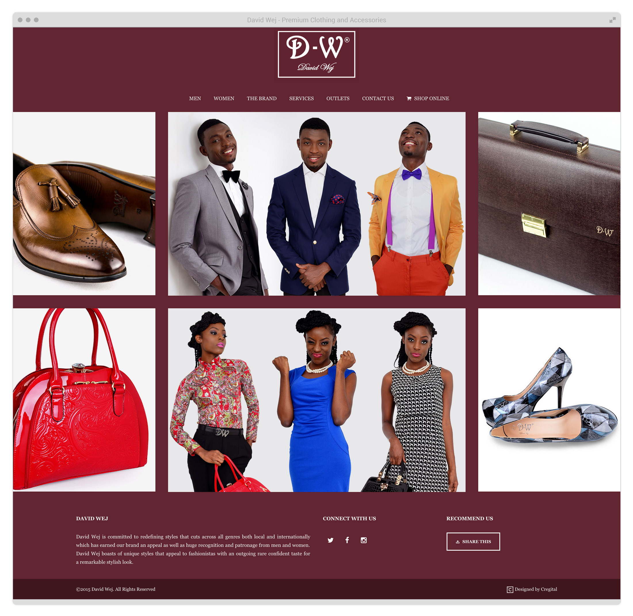 A fashion website - We Added A Link To Their Product Category On Jumia To Buttress Sales Efforts