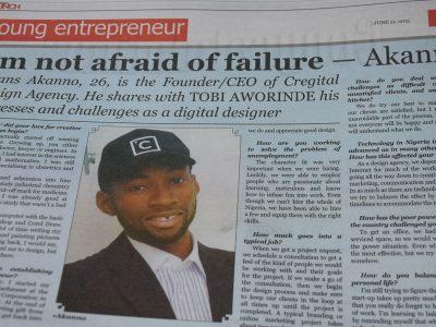 I'm not afraid of failure – Akanno